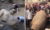 Phát hiện pho tượng Pharaoh khổng lồ 3.000 năm tuổi trong khu ổ chuột