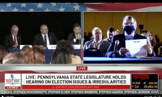 """Sửng sốt tại phiên điều trần ở Pennsylvania: """"Chỉ có hơn 3.200 phiếu cho Trump"""" trong số 600.000 phiếu bầu"""