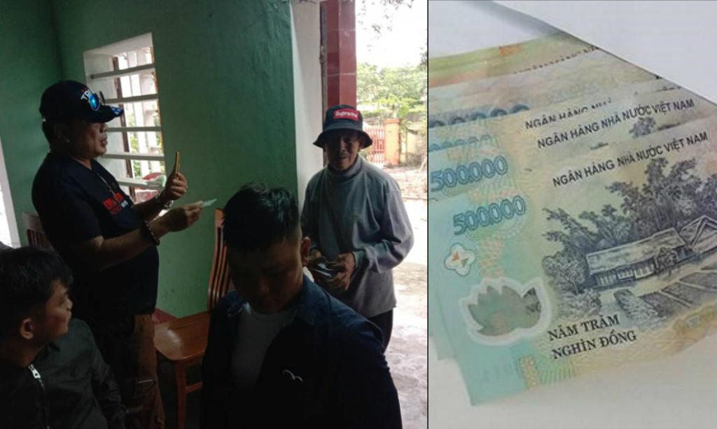 Phát hiện nhận dư 1 phong bì cứu trợ, cụ ông 80 tuổi lội bộ hơn 1km để trả lại