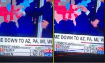 """Phát hiện CNN vô tình """"gian lận"""" phiếu bầu trong bản tin truyền hình trực tiếp"""