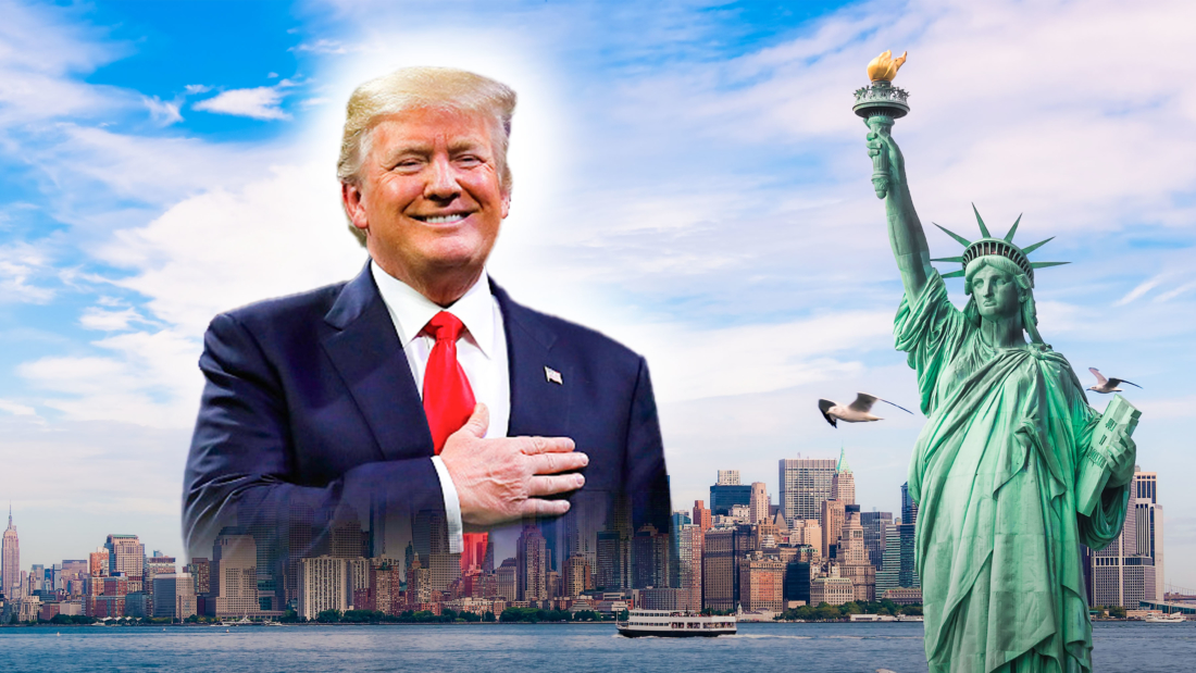Ba giấc mơ liên quan đến Tổng thống Trump