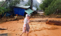 14 nhà dân ở Trà Leng lại bị nước lũ cuốn trôi