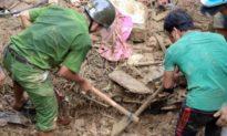 Tìm kiếm người mất tích ở Trà Leng: 4 ngày đào xới trên 1 hecta mà không có kết quả