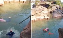 Trung Quốc: Cô gái rơi xuống sông nhưng người dân bàng quan, Tổng lãnh sự Anh tuổi 'lục tuần' nhảy xuống cứu