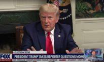 Ông Trump cảnh báo phóng viên: 'Đừng bao giờ nói chuyện với Tổng thống theo cách đó'