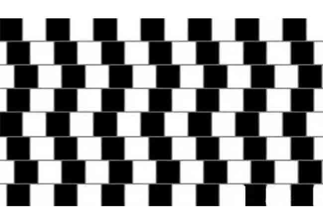 Càng lớn tuổi, sẽ càng ít thấy đây là một đường thẳng, mà là một đường chéo.