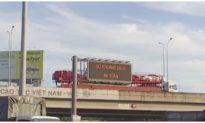 Chạy lùi hơn 100m trên cao tốc, tài xế bị phạt 17 triệu đồng