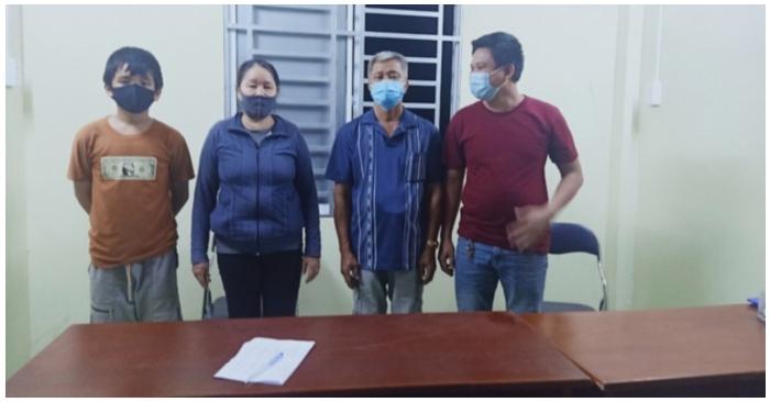 Phát hiện 4 công dân Việt Nam đi bộ từ Campuchia về nhập cảnh trái phép