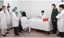 Tiếp tục tiêm nâng liều vắc xin COVID-19 của Việt Nam cho 7 người thử nghiệm