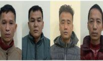 Đưa 9 người Trung Quốc nhập cảnh trái phép vào Hà Nội, 4 người đàn ông bị bắt giữ