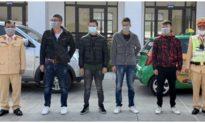 Bắt giữ taxi chở 4 người Trung Quốc nhập cảnh trái phép vào Việt Nam