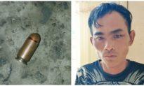 Người đàn ông ở Bạc Liêu vào trụ sở công an phường rút súng bắn người