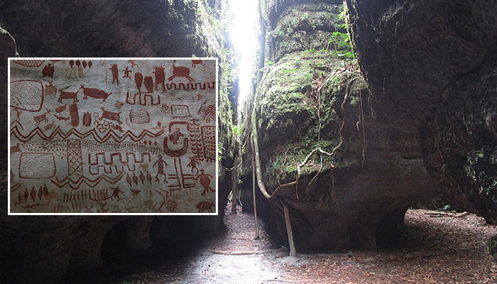 Tìm thấy hàng chục nghìn bức họa 12.000 năm tuổi thuộc nền văn minh kỷ Băng hà được vẽ trên vách đá ở Amazon