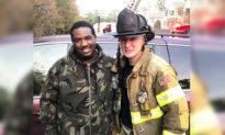 Người anh hùng Georgia (Mỹ) cứu sống 6 người khỏi tòa nhà chung cư 3 tầng bị cháy