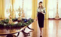 Melania Trump tiết lộ thiết kế trang trí Giáng sinh của Nhà Trắng