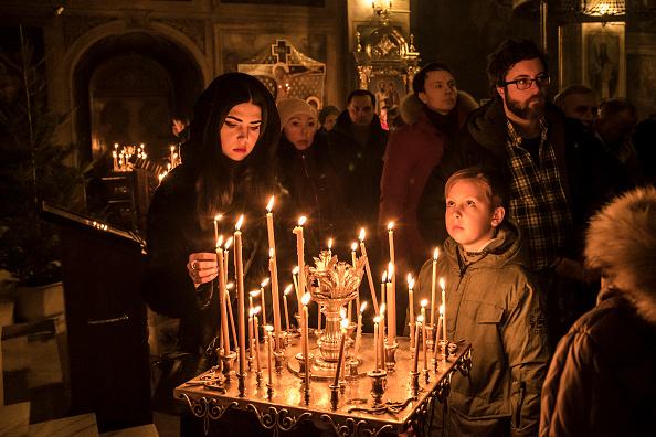 Giáng sinh ở Ukraine.