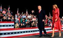 Tổng thống Trump phát biểu tại bang Georgia, người ủng hộ hô vang: '4 năm nữa'