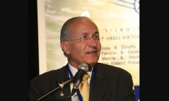 Giáo sư Haim Eshed nói chuyện tại Viện Nghiên cứu Chiến lược Hàng không và Vũ trụ Fisher ở Isarel năm 2008 (Ảnh: Wikipedia)