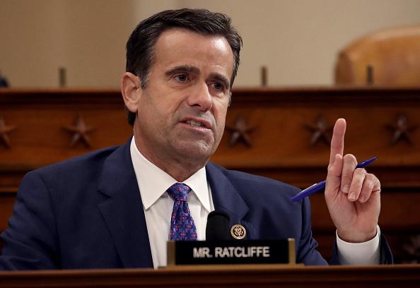 Giám đốc Tình báo Quốc gia John Ratcliffe đang trình Quốc hội một báo cáo được ủy quyền về sự can thiệp bầu cử - và nhóm của ông đang tập trung nhấn mạnh hơn vào Trung Quốc. (Ảnh của Drew Angerer / Getty Images)