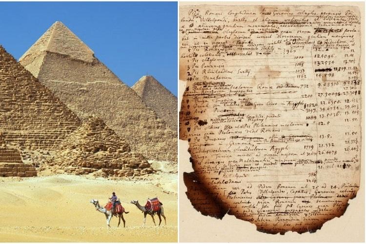 Ghi chú về 'Đại kim tự tháp' của nhà bác học Newton tiết lộ nghiên cứu của ông để dự đoán ngày tận thế