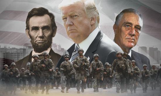 Sau TT Lincoln và TT Roosevelt, TT Trump sẽ thiết quân luật, bắt giam những kẻ tội đồ tham nhũng và phản quốc?