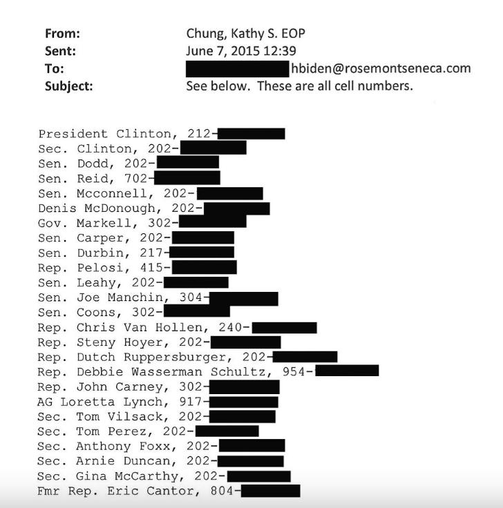 """Các email trong ổ cứng máy tính của Hunter Biden cũng cho thấy các đảng viên cấp cao của Đảng Dân chủ đều được nhắm vào các mục tiêu làm ăn trong """"đường dây"""" liên doanh Mỹ - Trung."""