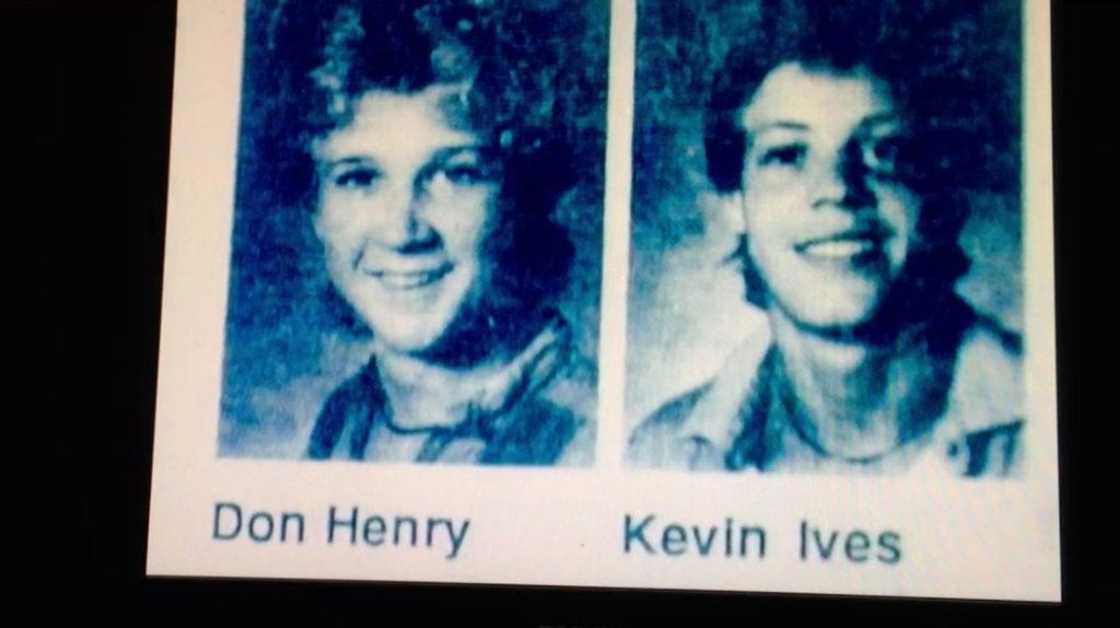 Don Henry (16 tuổi) và Kevin Ives (17 tuổi).