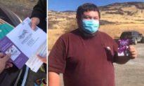BẰNG CHỨNG: Đảng Dân chủ hối lộ thẻ quà tặng cho người Mỹ bản địa để bỏ phiếu ở Nevada