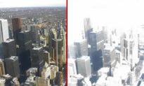 Thiên tượng kỳ dị xảy ra ở New York, điềm báo cho biến động của nước Mỹ?