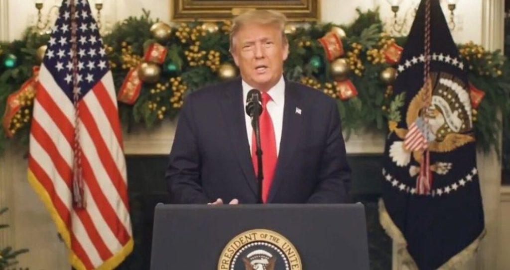 TT Trump đưa ra tuyên bố tại Nhà Trắng sau kỳ nghỉ lễ Giáng sinh