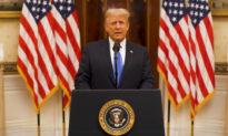 Tổng tống Donald Trump gửi lời chào tạm biệt Nước Mỹ
