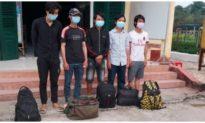 Bắt giữ 5 người Nghệ An nhập cảnh trái phép từ Campuchia vào Việt Nam