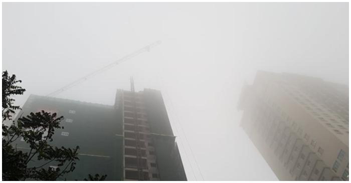 Sáng nay không khí Hà Nội lại ở mức rất xấu