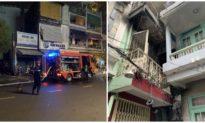 Cháy nhà giữa khuya ở quận 10, 7 người may mắn thoát nạn