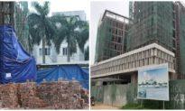 Dừng thi công tòa nhà Sở Tài chính Nghệ An điều tra vụ rơi thang máy khiến 11 người thương vong