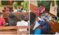 Phát hiện một xã ở Thanh Hóa có 17 học sinh cấp 2 tự làm và đốt pháo nổ
