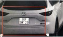 Che biển số ô tô, tài xế có thể bị phạt đến 1 triệu đồng
