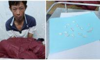 Người đàn ông ở Quảng Nam nuốt 15 tép heroin vào bụng
