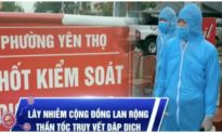 Sáng nay Hòa Bình có 2 ca lây nhiễm trong cộng đồng, dịch bệnh đã lan ra 8 tỉnh