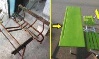 Thương học sinh nghèo, doanh nhân Tunisia biến đồ đạc bị coi là 'rác' thành nội thất mới cho trường học