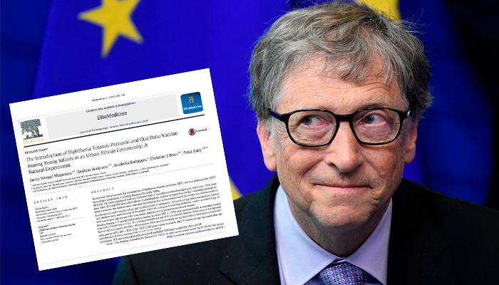 Nghiên cứu: Vaccine DTP của Bill Gates đã giết chết nhiều trẻ em gái châu Phi gấp 10 lần so với những trẻ chưa được tiêm chủng