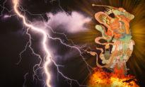 """""""Ngũ lôi oanh đỉnh"""" là Trời trừng trị: Thiên Lôi có mắt đánh kẻ ác"""