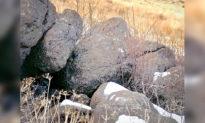 Bạn có thể phát hiện ra con sư tử núi đang ẩn mình trong bức ảnh chụp những tảng đá này không?