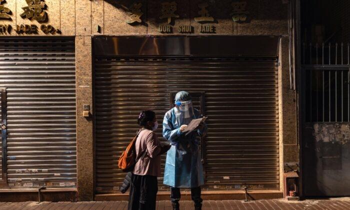 Hong Kong có thể phong tỏa hàng chục nghìn người sau khi virus Trung Cộng mới bùng phát