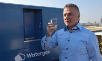 Công ty Israel chiết xuất 5000 lít nước uống mỗi ngày từ không khí