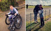 Vì để giúp con trai mắc bệnh nan y, người cha bất chấp nỗi sợ hãi tột độ nhảy dù ra khỏi máy bay