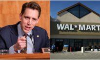 'Đòn tấn công' Walmart của Hawley, sau khi công ty này gọi ông là 'kẻ thất bại nặng nề' vì đã phản đối bầu cử gian lận