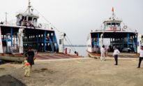 Phà tạm Rạch Miễu chính thức hoạt động, nối 2 bờ Tiền Giang và Bến Tre