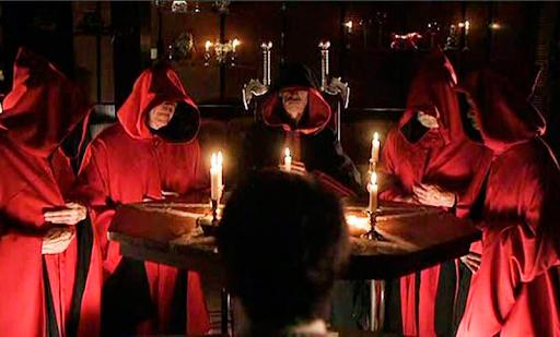 Một nghi lễ của tín đồ Satan giáo.