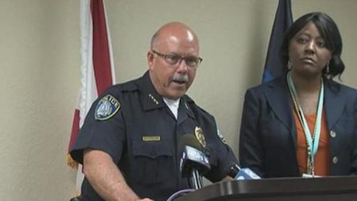 """Cảnh sát trưởng Joe Hall: """"Tôi tin rằng đây không phải là trò đùa""""."""